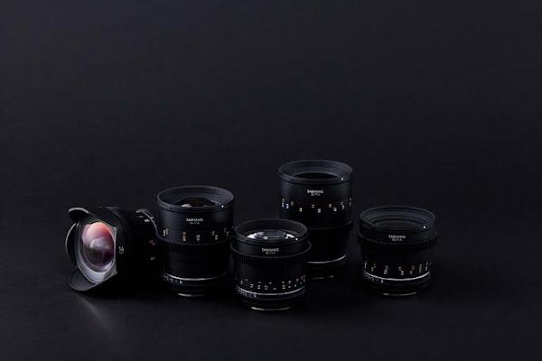Samyang acrescenta grande-angular de 14mm a série de objetivas para cinema