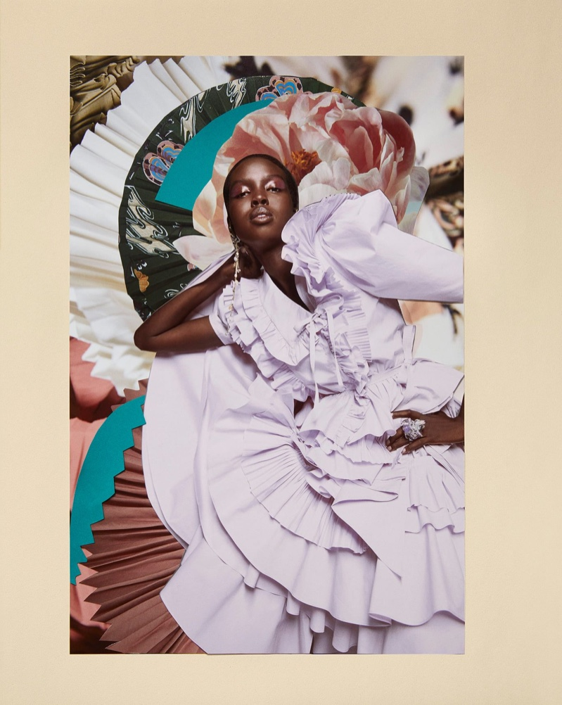 Ulla Johnson unveils bold collages for spring-summer 2021 campaign.