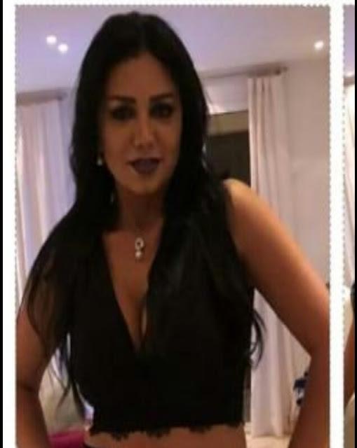 شاهد/ رانيا يوسف تفتح النار من جديد وتتحدى الجمهور بفستان من قطعتين مكشوف البطن