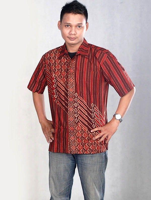 Contoh Motif Baju Batik Pekalongan Modern Model Terbaru