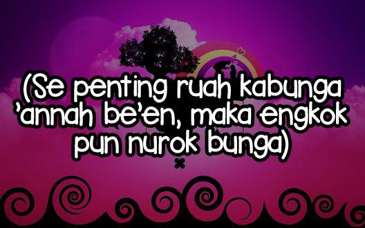 Kata Kata Bucin Bahasa Madura dan Artinya Singkat Terbaik ...
