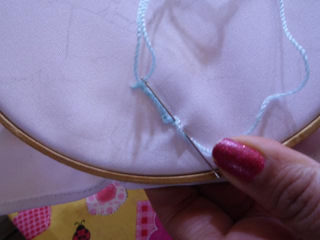 Puntadas básicas de bordado