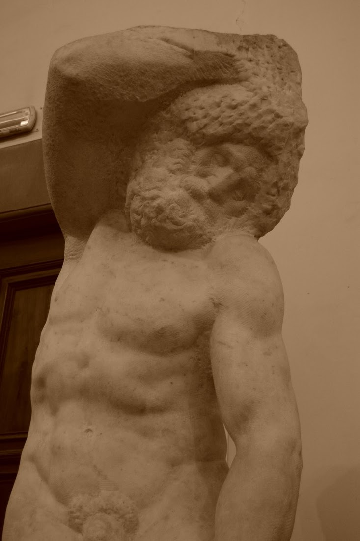 Michel-Ange - Esclave barbu - 1525