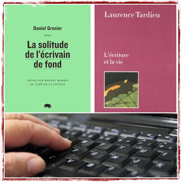 L'écriture de deux écrivains: Daniel Grenier et Laurence Tardieu