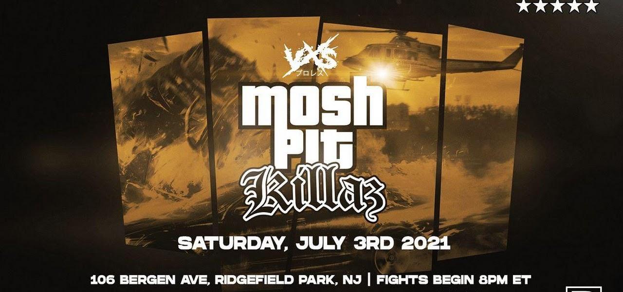 Cobertura: VxS Wrestling Mosh Pit Killaz 2021 – Brian Cage na área!