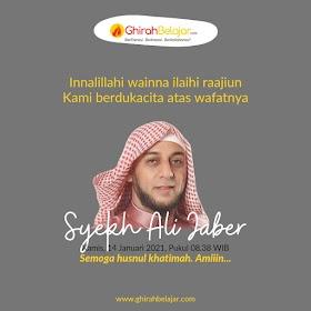 Kabar Duka: Syekh Ali Jaber Wafat