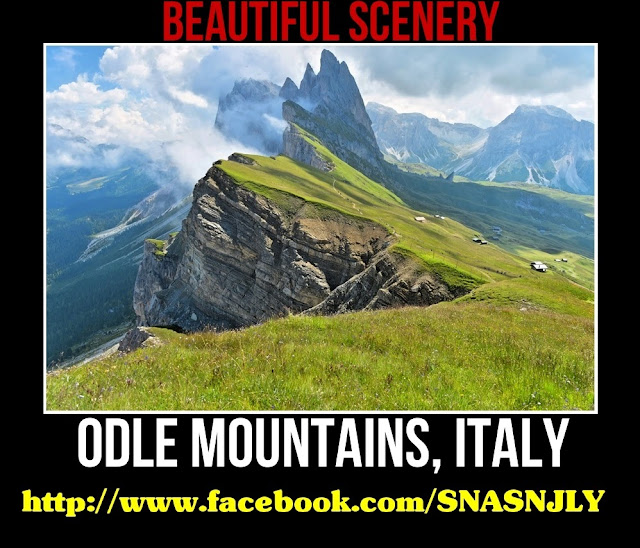 Odle Park, Italy, Beautiful scenery