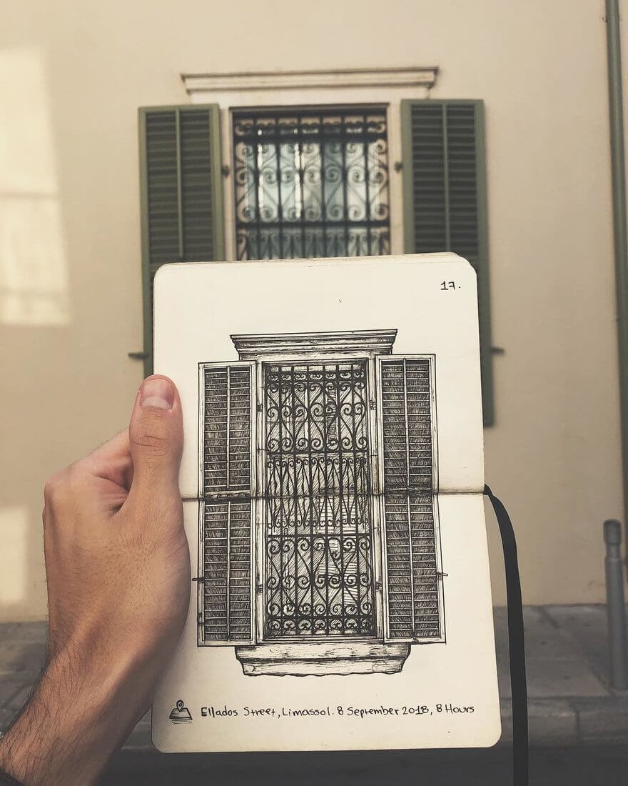 07-The-window-Alex-Pantela-Ink-Urban-Architectural-Drawings-www-designstack-co