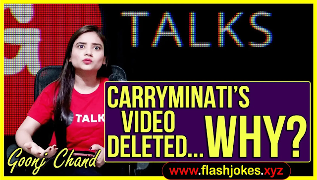 Carryminati's Video Deleted..why? | Goonj Chand | Poetry