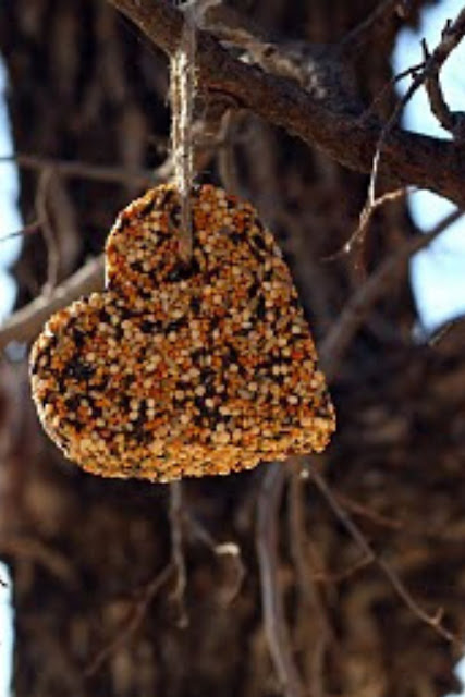 Heart Birdseed Craft