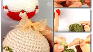 Bola Navideña Crochet / Tutorial