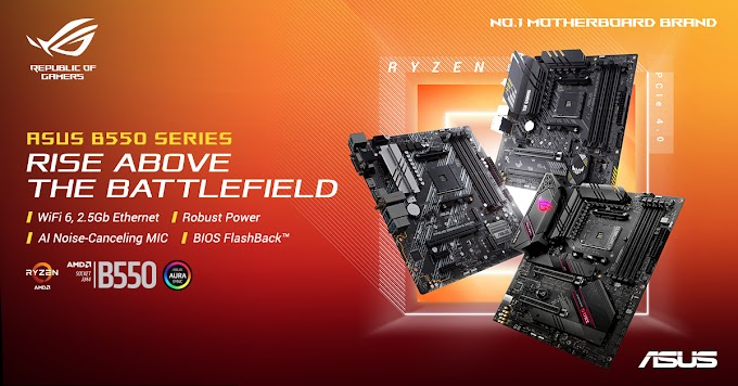ASUS B550 Motherboards Unveiled