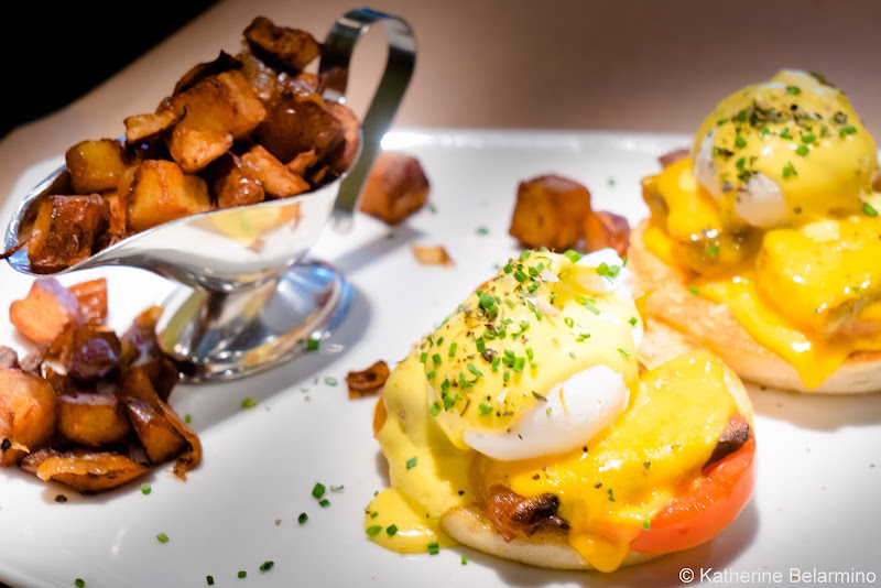 Cochon Volant Eggs Benedict Girls' Weekend in Chicago