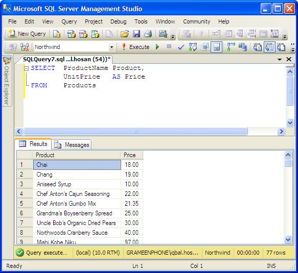 Examples: operator precedence in mssql server tutorial.