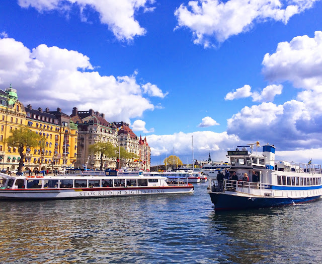 beautiful boats water stockholm