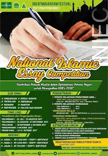 National Islamic Essay Competition 2017 by Univ. Negeri Semarang