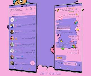 Moon & Star Theme For YOWhatsApp & Fouad WhatsApp By Driih Santos