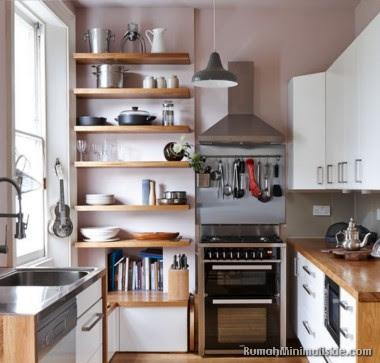 dapur minimalis semi outdoor