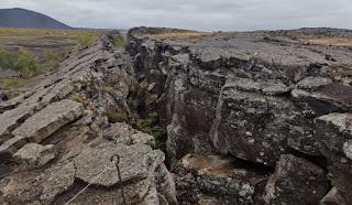 Cueva Grjótagjá. Alrededores del lago Mývatn. Islandia, Iceland.