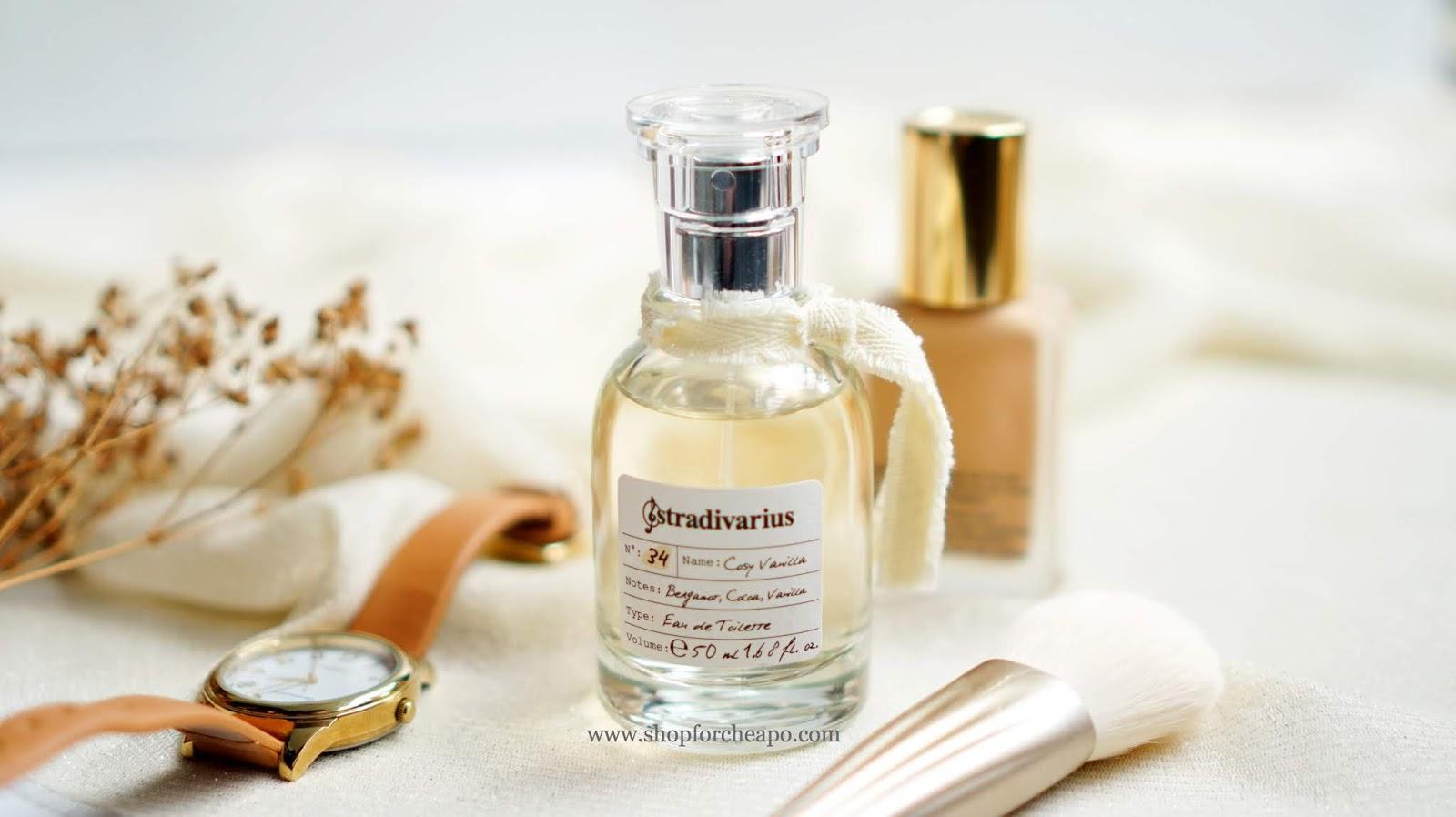 Review parfum Stradivarius No 34 Cosy Vanilla Eau De Toilette