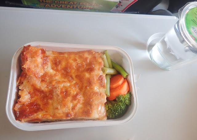 lasagna air asia