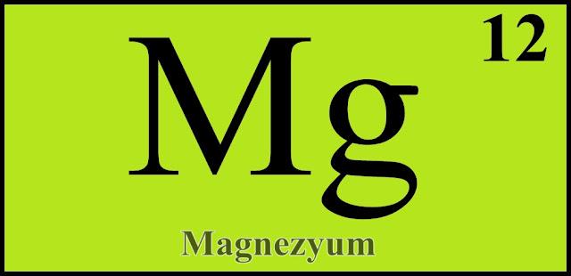 Magnezyum Kimyasal Sembol Simgesi