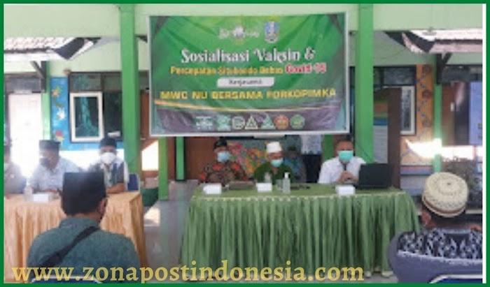 Sinergi Forpimka Kecamatan Panji Dengan MWC NU Panji, Lakukan Sosialisasi Percepatan Vaksinasi Covid-19