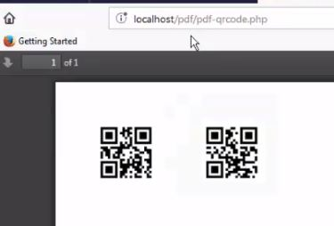 PHP FPDF] How to Integrate QR Code in PDF Generation
