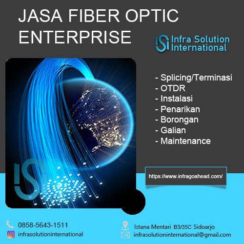 Jasa Splicing Fiber Optic Magetan Enterprise