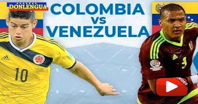 El partido entre Colombia y Venezuela en el Grupo B de la Copa América
