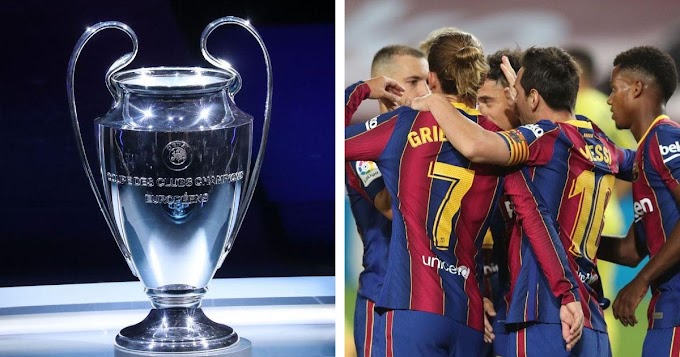 Barcelona potential rivals in Champions League group stage revealed after been placed at pot 2