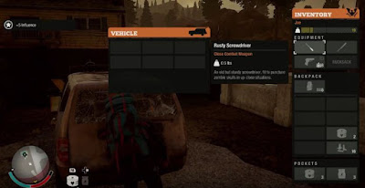 State of Decay 2, Transfer Vehicle Trunk, Transfer Goods Automatically
