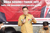 MELKY PANGEMANAN Beber Anggaran Reses DPRD Sulut