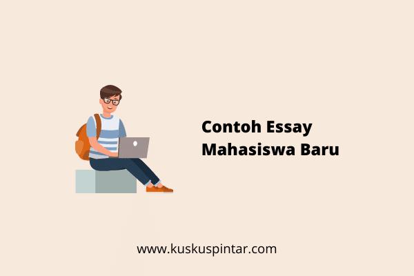 Contoh Essay Mahasiswa