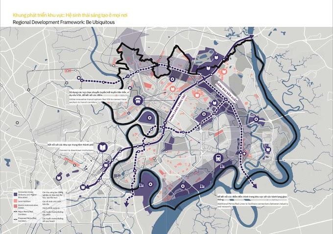 Quy hoạch chi tiết Thành phố phía đông Thủ Đức