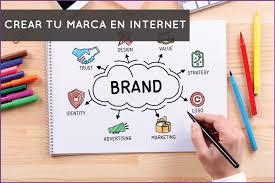 Como crear una marca en internet