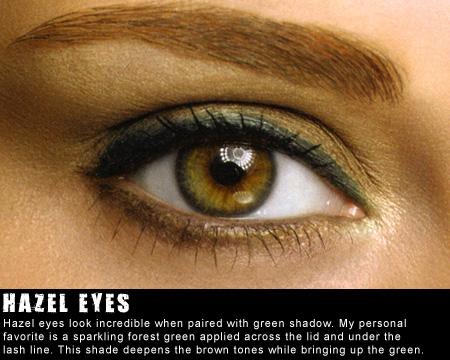 Meekzbeautyparadise Color Wheel Theory For Hazel Eyes