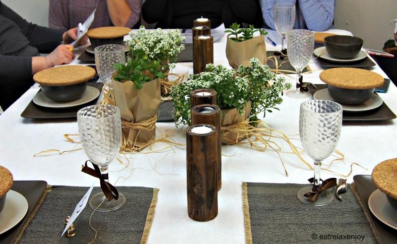 עיצוב שולחן עם רוית חודורוב בגלריה לה ברוקנט
