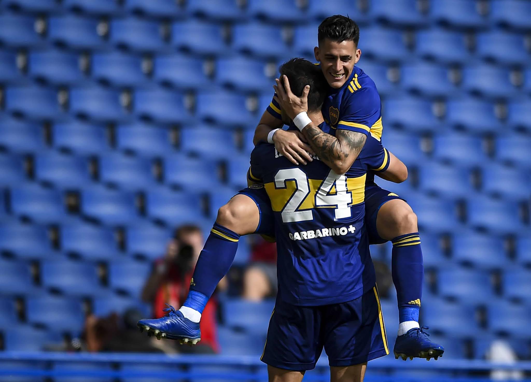 Boca le ganó a Lanús y se aseguró la clasificación a cuartos de final