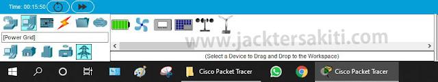 Penjelasan Elemen End Devices Cisco Packet Tracer