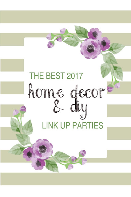 Ultimate list of the best home decor and DIY link up parties for 2017 | sprinkledwithcolor.com