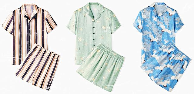 NewChic Summer Sale 2020 Fashionable Pajamas Set