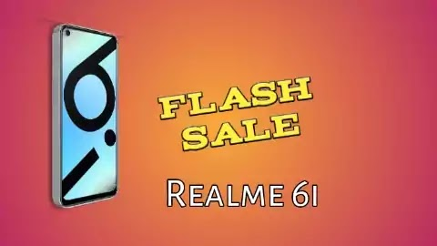 Realme 6i Flash Sale Today At 12 Noon Via Flipkart And Realme.com.