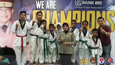 Sukses Boyong 9 Medali Emas Kapolri Cup 2019, Sumja Swadipa Lampung Siapkan Atlet ke Kejuaraan Internasional