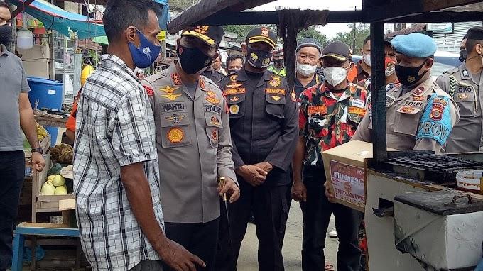 Kapolda Aceh Memotivasi Warga Untuk Bersatu Melawan Pandemi Covid-19