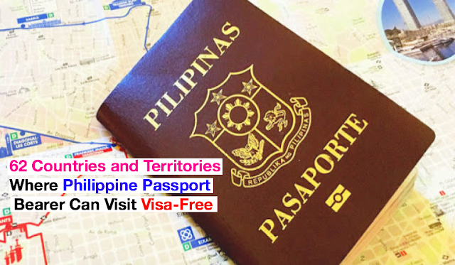 Complete List of 62 Countries and Territories Where Philippine Passport Bearer Can Visit Visa-Free