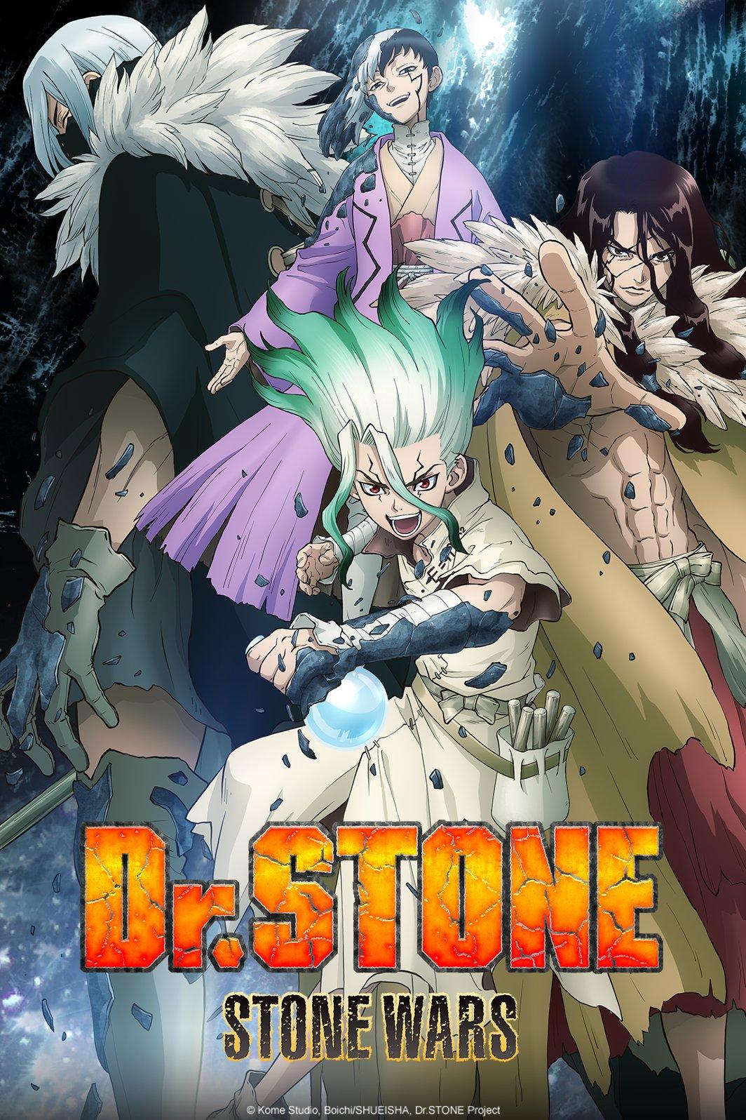 Plakat anime Dr. Stone: Stone Wars