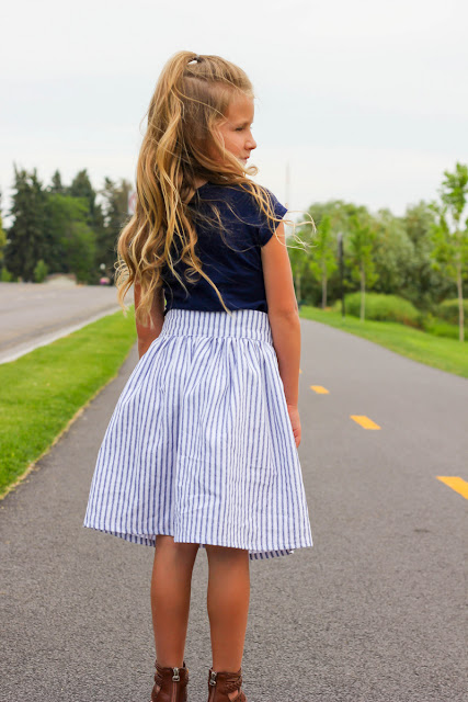 I Married Superman: Button Front Skirt Tutorial