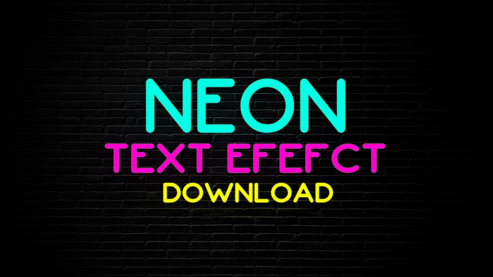 Download NEON TEXT EFFECT PACK | WONDERSHARE FILMORA 9 | FREE ...