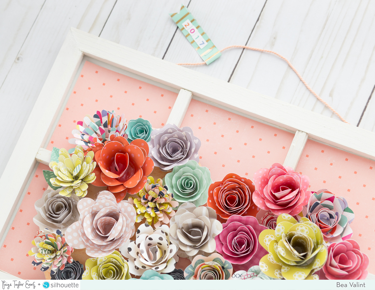 Rolled Flower Home Decor By Bea Valint Paige Taylor Evans